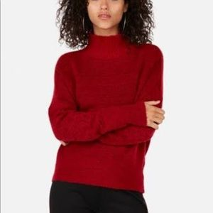 Brand New Express Funnel Neck red sweater